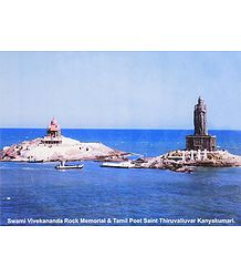 Thiruvalluvar Statue and Vivekananda Rock Temple