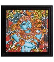 Murlidhara Krishna Framed Picture