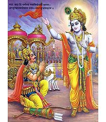 Lord Krishna and Arjuna - the two most important men in Draupadi's life