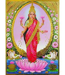Goddess Lakshmi -  Poster