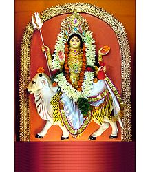Maha Gauri - the Eighth Form of Navadurga