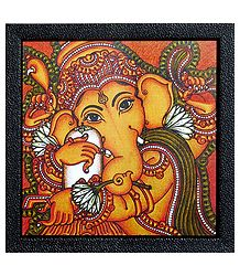 Lord Ganesha Framed Picture