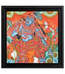 Buy Lord Krishna Framed Picture