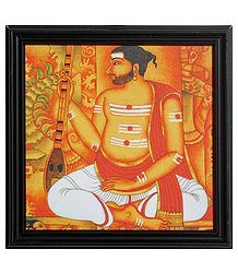 Syama Sastri - Composer of Carnatic Music - Wall Hanging