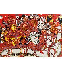 Anantasayan Vishnu and Lakshmi