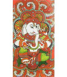 Lord Ganesha - Mural Poster