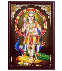 Murugan - Framed Poster