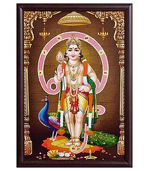 Murugan Framed Picture