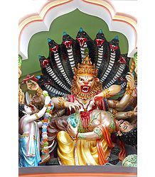 Narasimha Avatar - Fourth Incarnation of Lord Vishnu
