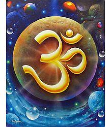 Om - the Divine Sound - Poster