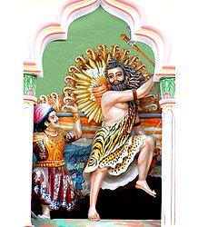 Parashuram Avatar - Sixth Incarnation of Lord Vishnu - Poster