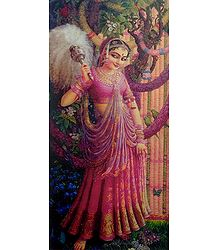 Radha Waiting for Krishna