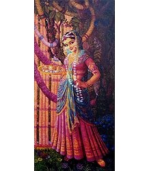 Krishna's Beloved Radha - Poster