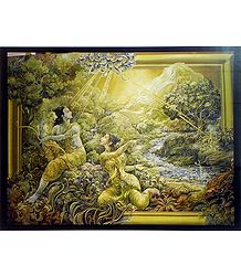 Sita Requests Rama to Fetch the Illusory Golden Deer