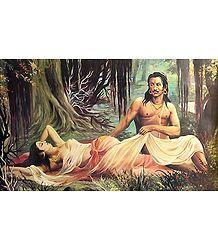 Shakuntala Dushyanta - Poster