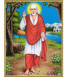 Shirdi Sai Baba - Poster