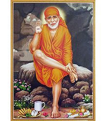 Buy Shirdi Sai Baba Poster