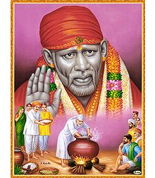 The Simple Life of Shirdi Sai Baba - Poster