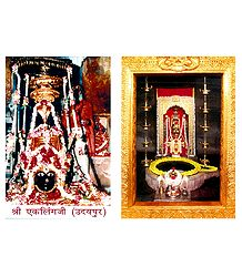 2 Small Posters of Somnath Mahadev - 2 Photo Prints