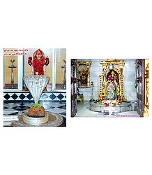Somnath and Nageshwar Mahadev - Set of 2 Small Photo Prints