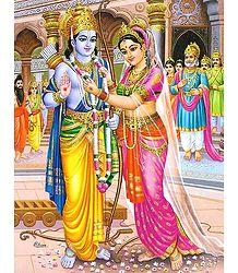 Sita Swayamvar - Poster