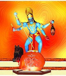 Photographic Print Rudra Bhairav Shop Online