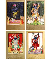 Four Darshans of Srinathji