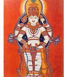 Mahavishnu - Mural Poster