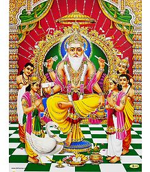 Vishwakarma - Glitter Poster