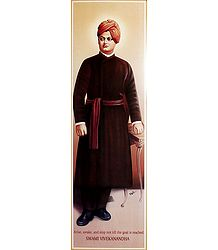 Swami Vivekananda - The Idol of Young India - Poster