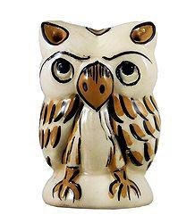 Ceramic Owl Incense Burner with 4 Holes