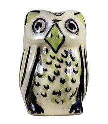 Ceramic Owl Incense Burner with 3 Holes