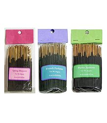 Set of 3 Small Sized Incense Sticks