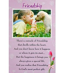 Buy Online Friendship Poster