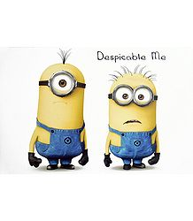 Minions from Despicable Me - Poster