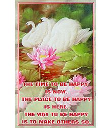 Happiness Poster - Shop Online
