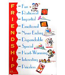 Friendship Poster - Shop Online