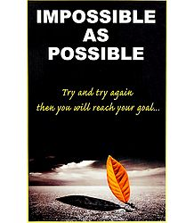Impossible as Possible Poster