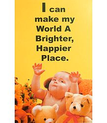 A Happy World - Poster