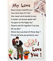 Message of Love - Poster