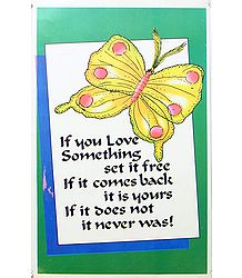 Set Your Love Free - Poster