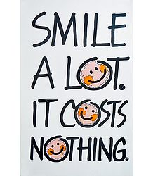 Priceless Smile Poster