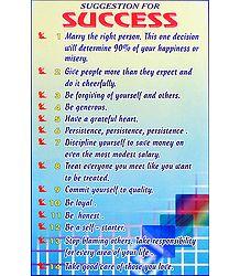 Secrets of Success Poster