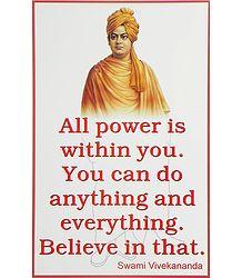 Gospel of Swami Vivekananda