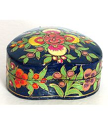 Papier Mache Jewelry Box