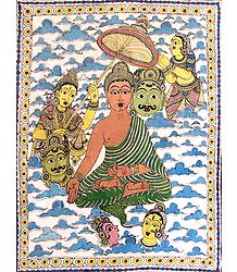 Lord Buddha - Kalamkari Paintings