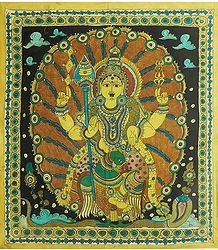 Kartikeya - Kalamkari Paintings