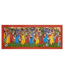 Celebration of a Tribal Festival