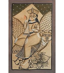 Lakshmi with Her Vahana, the Owl