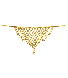 Golden Jhalar Kamarband (Only for Front)